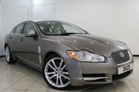USED 2010 10 JAGUAR XF 3.0 V6 S PREMIUM LUXURY 4DR AUTOMATIC 275 BHP JAGUAR SERVICE HISTORY + LEATHER SEATS + SAT NAVIGATION + REVERSE CAMERA + BLUETOOTH + CRUISE CONTROL + CLIMATE CONTROL + 20 INCH ALLOY WHEELS