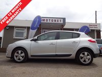 2010 RENAULT MEGANE 1.5 DYNAMIQUE TOMTOM DCI 5DR DIESEL 106 BHP+++£30 PER YEAR TAX+++ £3380.00