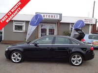 USED 2013 13 AUDI A4 2.0 TDI SE TECHNIK 4DR DIESEL 134 BHP+++£30 PER YEAR TAX+++ +++WORLD CUP SALE NOW ON+++