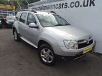 USED 2014 63 DACIA DUSTER 1.5 LAUREATE DCI 5d 107 BHP One Owner Full Service History
