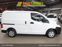 """USED 2015 65 NISSAN NV200 1.5 DCI ACENTA  VAN - WITH AIR CON-ONE OWNER-TWIN SIDE LOAD DOORS-SERVICE HISTORY """"YOU'RE IN SAFE HANDS"""" - AA DEALER PROMISE"""