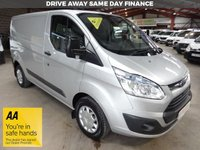 USED 2016 16 FORD TRANSIT CUSTOM 2.2 290 TREND LR P/V 125 BHP -ONE OWNER - LOW MILEAGE