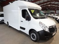 2015 VAUXHALL MOVANO 2.3 F3500 L3H1 P/C CDTI 125 BHP - LONG BODY - LOW LOADER PLATFORM LUTON-ONE OWNER £14995.00