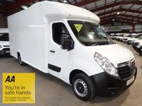 "USED 2015 65 VAUXHALL MOVANO 2.3 F3500 L3H1 P/C CDTI 125 BHP - LONG BODY - LOW LOADER PLATFORM LUTON-ONE OWNER ""YOU'RE IN SAFE HANDS"" - AA DEALER PROMISE"