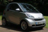 2010 SMART FORTWO 1.0 PASSION MHD 2d AUTO 71 BHP £2795.00