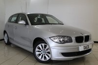 USED 2008 08 BMW 1 SERIES 1.6 116I ES 5DR 114 BHP AIR CONDITIONING + RADIO/CD + ELECTRIC WINDOWS + AUXILIARY PORT + 16 INCH ALLOY WHEELS