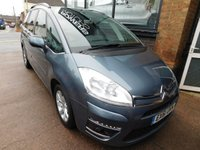 USED 2011 61 CITROEN C4 GRAND PICASSO 1.6 VTR PLUS HDI EGS 5d AUTO 110 BHP