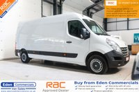 2014 RENAULT MASTER 2.3 LM35 ENERGY DCI S/R P/V 1d 125 BHP £8495.00