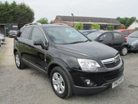 USED 2012 12 VAUXHALL ANTARA 2.2 EXCLUSIV CDTI 5DR SERVICE HISTORY HIGH SPEC