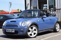 USED 2004 54 MINI CONVERTIBLE 1.6 COOPER S 2d 168 BHP Full Service History 6 Stamps