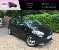 USED 2014 14 SEAT MII 1.0 TOCA 5d 59 BHP 1 LADY OWNER FULL SEAT HISTORY FACTORY SAT NAV AND BLUETOOTH