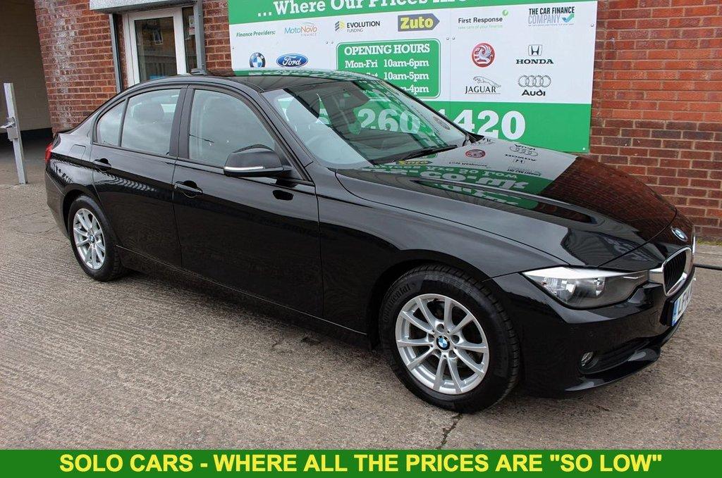 2014 14 BMW 3 SERIES 2.0 320D EFFICIENTDYNAMICS BUSINESS 4d 161 BHP