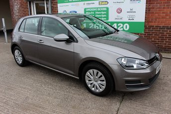 2014 VOLKSWAGEN GOLF 1.6 S TDI BLUEMOTION TECHNOLOGY 5d 103 BHP £7499.00