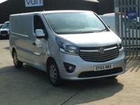 2015 VAUXHALL VIVARO 1.6CDTi  2900 L2 H1 SPORTIVE  115 BHP £9895.00