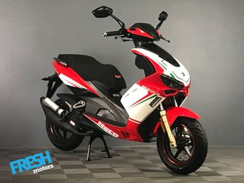 2018 NECO GPX AC 4T 4-Stroke 50cc Scooter Rosso Racing R Brand New Learner Scooter / Moped £1295.00