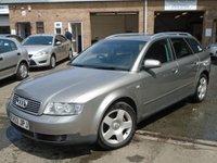 2003 AUDI A4 1.9 AVANT TDI SE 5d 129 BHP £1795.00