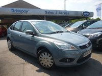 USED 2008 58 FORD FOCUS 1.6 STYLE 5d 100 BHP