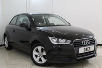 USED 2015 15 AUDI A1 1.6 TDI SE 3DR 114 BHP FULL SERVICE HISTORY + 1 OWNER FROM NEW + AIR CONDITIONING + AUXILIARY PORT + SPORT SEATS + RAIN SENSORS + HEATED MIRRORS + 16 INCH ALLOY WHEELS
