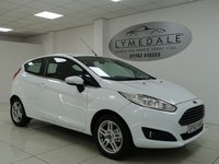 USED 2014 63 FORD FIESTA 1.2 ZETEC 3d 81 BHP £30 TAX, EXCELLENT CONDITION, MOT 21.6.19