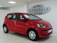 USED 2014 14 VOLKSWAGEN UP 1.0 MOVE UP 3d 59 BHP FULL VW HISTORY, 1 OWNER, £20 ROAD TAX, INS GROUP 1