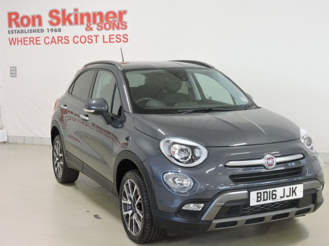 View our 2016 16 FIAT 500X 2.0 MULTIJET CROSS PLUS 5d 140 BHP