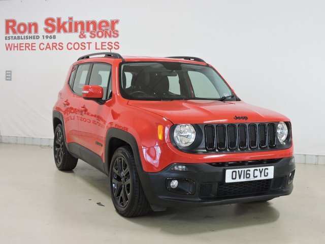 View our 2016 16 JEEP RENEGADE 1.6 M-JET DAWN OF JUSTICE 5d 118 BHP