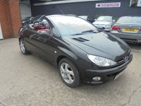 USED 2003 53 PEUGEOT 206 CC 1.6 COUPE CABRIOLET S 2d 110 BHP