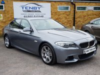 2010 BMW 5 SERIES 3.0 530D M SPORT 4d AUTO 242 BHP £12489.00
