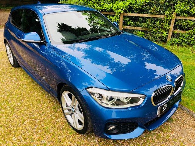 2016 16 BMW 1 SERIES 2.0 118D M SPORT 3d AUTO 147 BHP