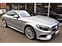 "USED 2016 MERCEDES-BENZ S CLASS 4.7 S500 AMG Line 2dr (start/stop) 22"" ALLOYS. VAT QUALIFYING"