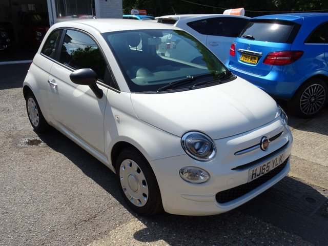 2015 65 FIAT 500 1.2 POP 3d 69 BHP NEW SHAPE WITH COLOUR TOUCHSCREEN