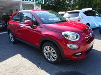 USED 2015 65 FIAT 500X 1.6 POP STAR 5d 110 BHP One Lady Owner from new, Service History + Just Serviced by ourselves, Minimum 8 months MOT, Fiat Warranty until October 2018