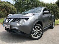 USED 2015 15 NISSAN JUKE 1.5 TEKNA DCI 5d 110 BHP 1 OWNER JUKE WITH FULL SERVICE HISTORY TOP SPEC LEATHER NAV REV CAM