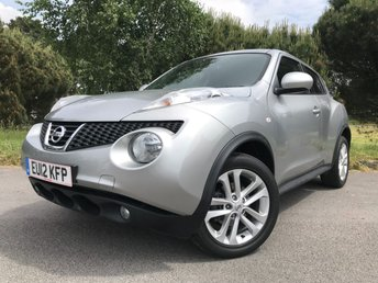 2012 NISSAN JUKE 1.6 ACENTA PREMIUM 5d AUTO 117 BHP £9450.00