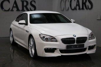 2014 BMW 6 SERIES 3.0 640D M SPORT GRAN COUPE 4d AUTO 309 BHP £25495.00