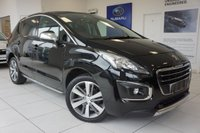 USED 2015 PEUGEOT 3008 1.6 BLUE HDI S/S ALLURE 5d 120 BHP FSH - SAT NAV - GLASS ROOF