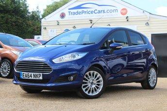 2014 FORD FIESTA 1.6 TITANIUM 5d AUTO 104 BHP £9250.00