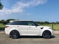 2018 LAND ROVER RANGE ROVER SPORT 3.0 TDV6 HSE 5d AUTO 306 BHP £69995.00