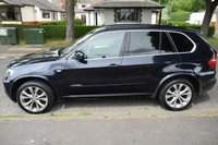 USED 2009 59 BMW X5 3.0 XDRIVE35D M SPORT 5d AUTO 282 BHP SERVICES HISTORY, HEATED LEATHER, REAR ENTERTAINMENT, ALLOY WHEELS
