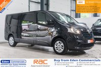 2016 RENAULT TRAFIC 1.6 LL29 SPORT ENERGY DCI S/R P/V 120 BHP *FINISHED IN STUNNING BLACK* £12995.00