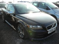 USED 2009 09 VOLVO C30 1.6 D DRIVE R-DESIGN 3d 109 BHP Full leather with heated front seats