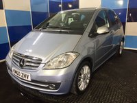 "USED 2011 60 MERCEDES-BENZ A CLASS 1.5 A160 ELEGANCE SE 5d 95 BHP A stunning example of this highly sought after family automatic finished in unmarked pale metalic blue contrasted with 10 twin sopke 16"" alloy wheels which set the vehicles tone of distinction.This vehicle comes with part leather interior ,bluetooth phone preparation, air conditioning ,auto light and wipers,rear parking sensors,cruise control and speed limiter plus all the usual Mercedes refinements. Any inspection is welcomed this car needs to be driven and viewed to be fully appreciated."