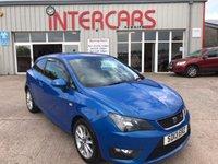 2013 SEAT IBIZA 1.2 TSI FR 3d 104 BHP £6995.00