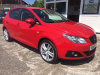 USED 2009 09 SEAT IBIZA 1.4 SPORT 5d STUNNING COLOUR EXCELLENT CONDITION!!!