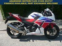 2016 HONDA CBR 286cc CBR 300 RA-F  £3495.00