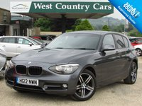 USED 2012 12 BMW 1 SERIES 1.6 116I SPORT 5d 135 BHP Low Mileage Only 2 Owners