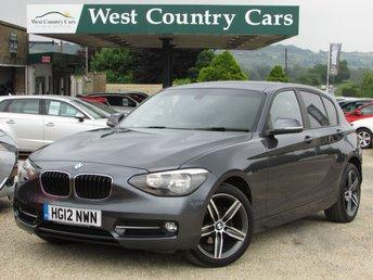 2012 BMW 1 SERIES 1.6 116I SPORT 5d 135 BHP