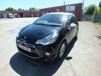 USED 2013 13 CITROEN DS3 1.6 DSTYLE 3d AUTO 120 BHP