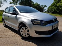 USED 2011 11 VOLKSWAGEN POLO 1.2 S A/C 5d 2 FORMER KEEPERS