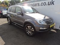 USED 2015 15 SSANGYONG REXTON 2.0 EX 5d AUTO 153 BHP One Lady Owner SInce New 44000 Miles Full Service History